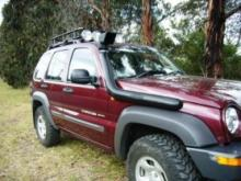 Airflow Snorkel For Jeep KJ Cherokee
