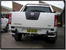 Rear Bar Protector For Nissan Navara