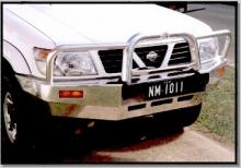 Bull Bar for Nissan Patrol