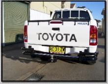 Rear Bar Protector For Toyota Hilux