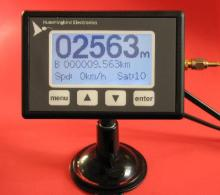 Deluxe Odometer with Integrated GPS