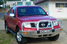 Bull Bar for Nissan Navara D40