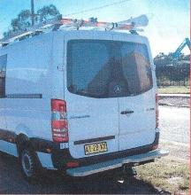 Telstra Type Rear Bars / Rear Step to suit Mercedes Sprinter