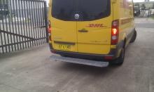 Telstra Type Rear Bars / Rear Step to suit VW Crafter